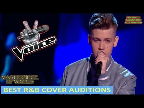MALE R&B  AUDITIONS ON THE VOICE