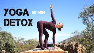 Йога детокс мягкая практика для всех уровней 50 мин | chilelavida