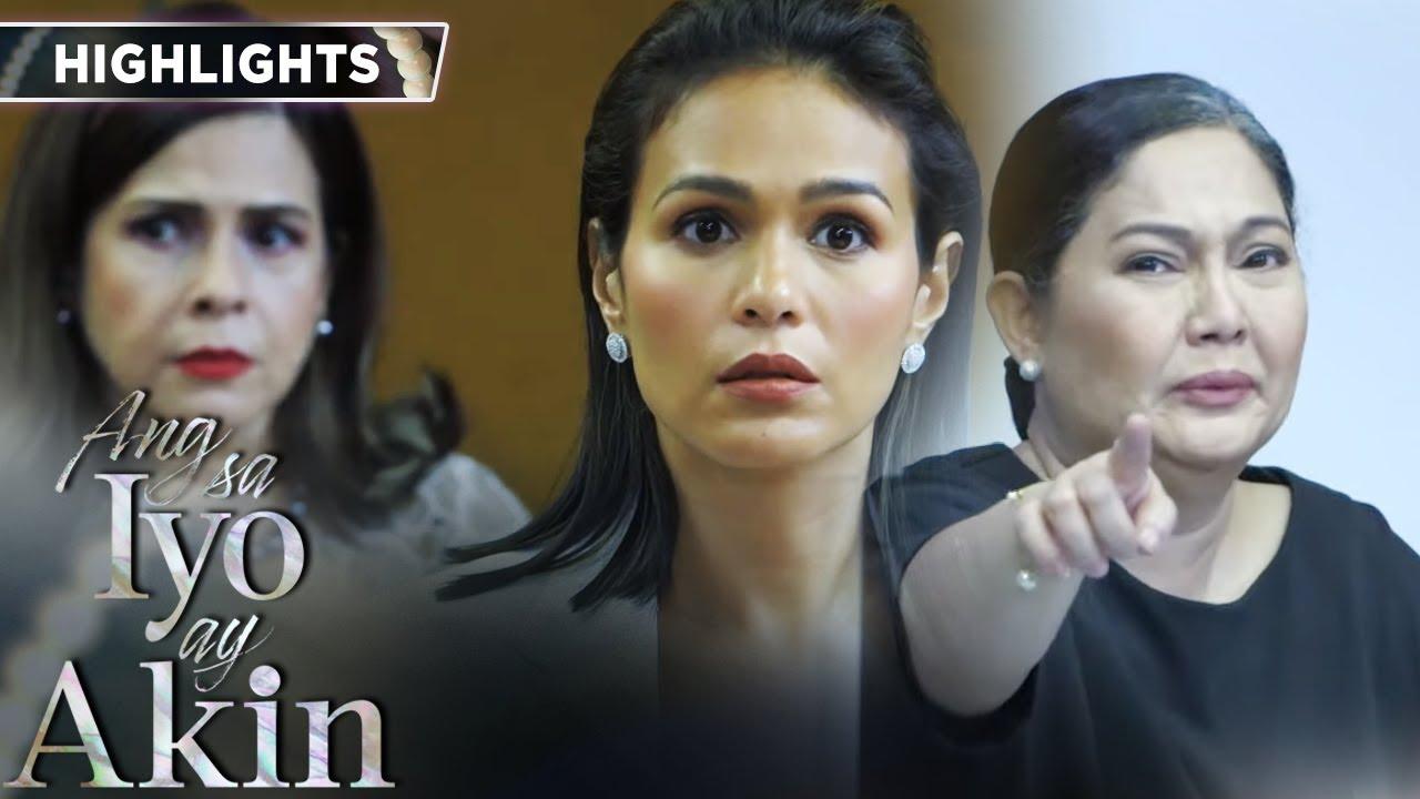 Download Ellice is shocked by Lucing's revelation | Ang Sa Iyo Ay Akin