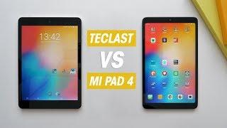 Teclast M89 vs Xiaomi Mi Pad 4, ¿cuál reinará en las 8 pulgadas?