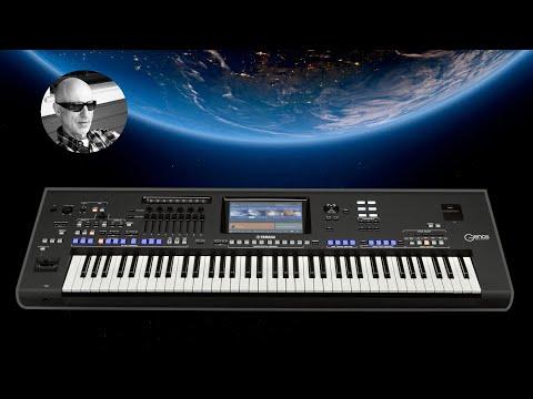 Lady in Black - Yamaha GENOS - Organ Rock Style - Uriah Heep Cover