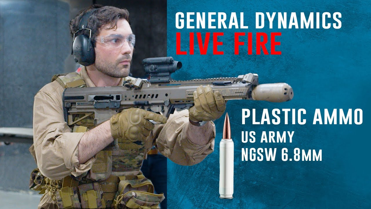 General Dynamics US Army Prototype M4 replacement NGSW