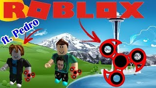 ROBLOX HAND SPINNER -ft. Pedro