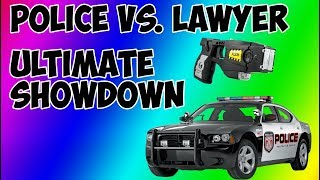 Police Vs. Lawyer  I   Angry Police  I   Compilation