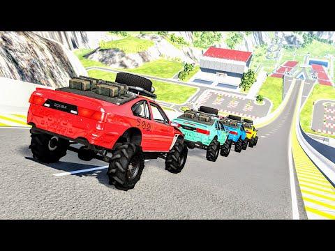 Epic High Speed Jumps #85 – BeamNG Drive   CrashBoomPunk