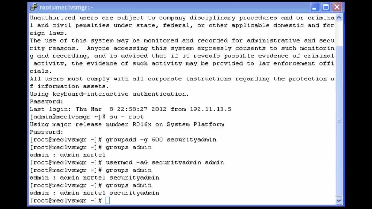 How to Reset the Avaya Aura System Manager Web Admin Password