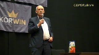 Zafałszowana historia Polski - Janusz Korwin-Mikke w Legionowie 17.11.2016 część I