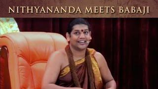 Nithyananda meets Babaji and receives his name