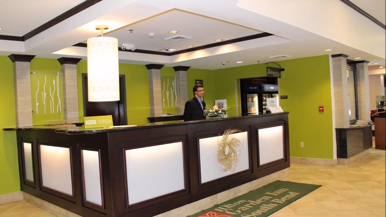 Hilton Garden Inn South Bend Lobby U0026 Restaurant Renovations