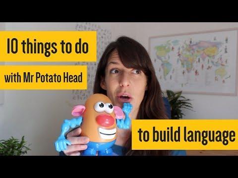 Using Mr Potato Head to build language
