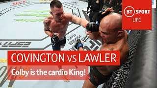 Colby Covington vs Robbie Lawler (Fight highlights) | UFC Newark