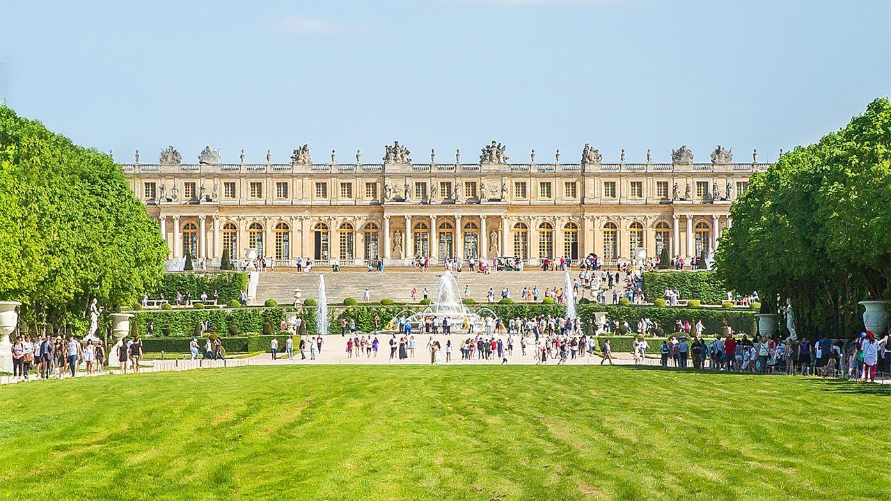 Paris - Versailles - YouTube