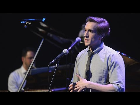 """Oliver Savile sings """"AGAIN"""" by Scott Alan at The St. James Theatre, May 3rd, 2015"""