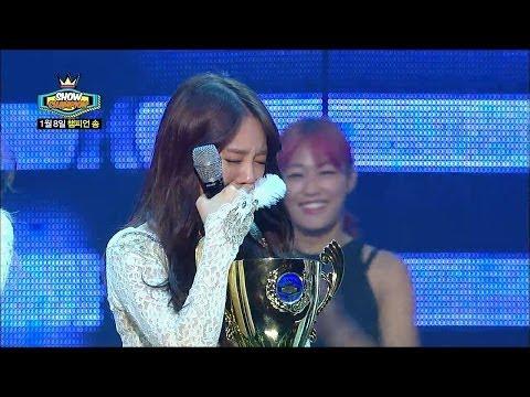 【TVPP】Girl's Day - Winner Interview of 'Something', 걸스데이 - Something 1위 소감 @ Show Champion Live