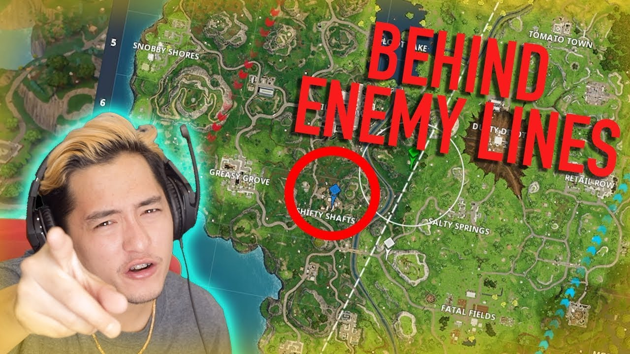 50 VS 50 BEHIND ENEMY LINES - FORTNITE
