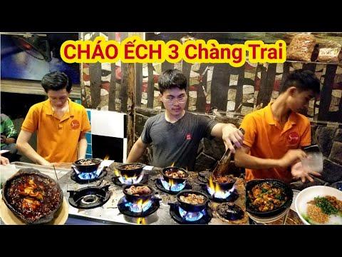 Quán cháo ếch 3 Chàng Trai bán không kịp hút khách đông nghẹt mỗi đêm ở Sài Gòn | Saigon Travel