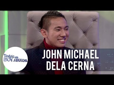John Michael dela Cerna appreciates the postive comments from netizens | TWBA