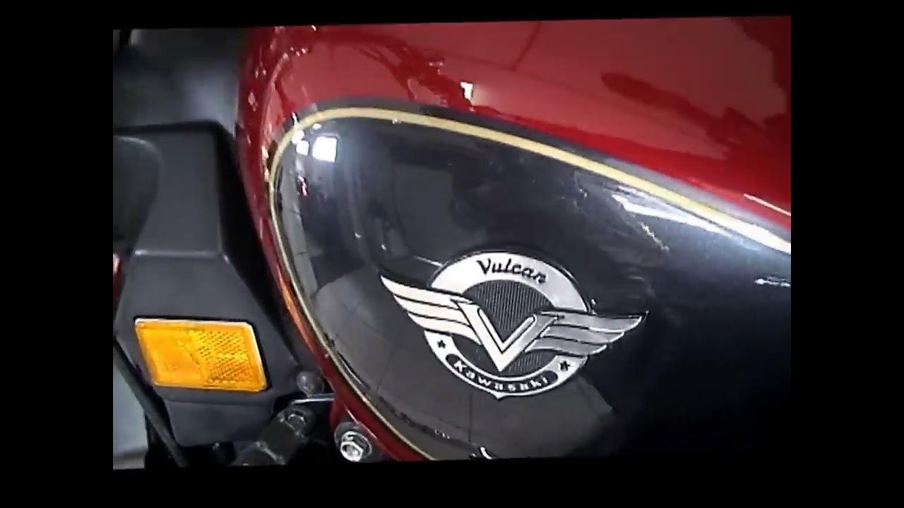 Kawasaki Vulcan 750 >> LR Motos - Kawasaki Vulcan 750 Vinho No Simulador de Velocidade - YouTube
