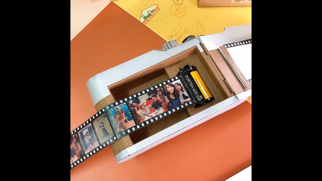 客製化│經典膠捲底片相機造型卡片
