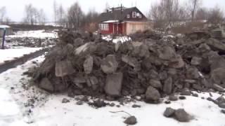 Строительный мусор у Логмозеро(, 2016-12-26T09:46:43.000Z)