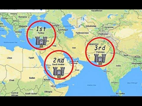 Die 3 Festungen vom Islam, Türkei Saudi-Arabien Pakistan