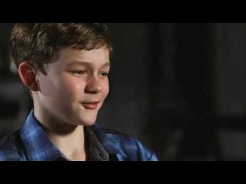 "Pan: Levi Miller ""Peter"" Behind the Scenes Movie Interview"