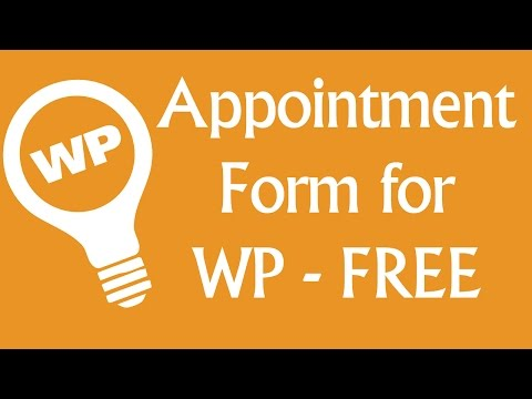 Free WordPress Booking System - Appointment Plugin