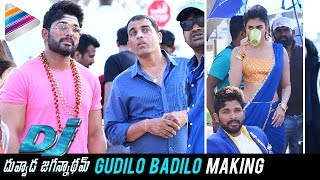 DJ Gudilo Badilo Song Making | DJ Duvvada Jagannadham FUN ON SETS | Allu Arjun | Pooja Hegde
