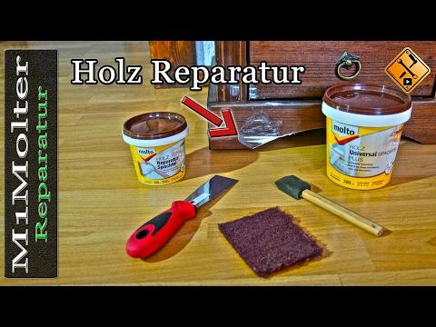 holz-reparieren-und-auffüllen-/-holzschäden-reparieren-durch-spachteln-von-m1molter