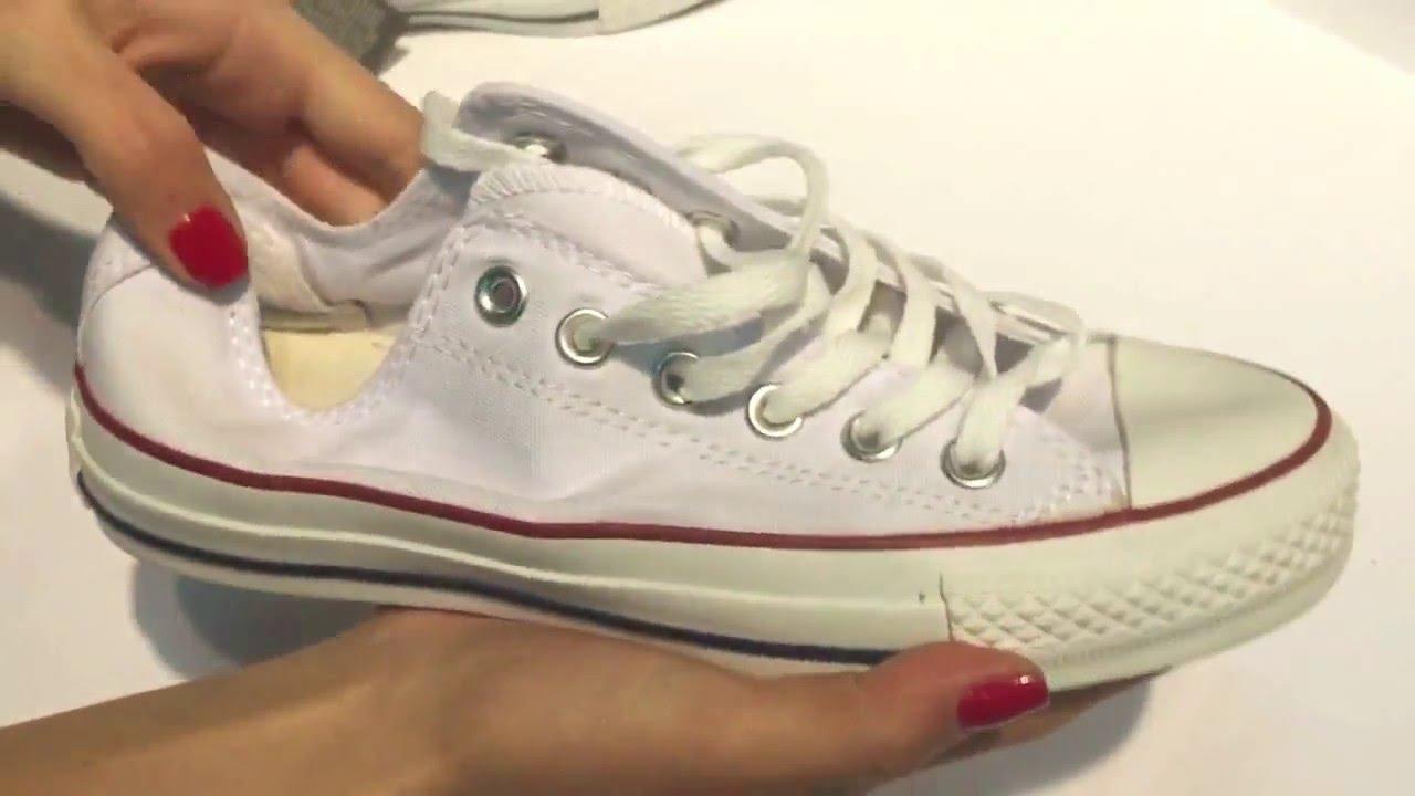 3d85276c Купить Кеды Конверс Оригинал Converse Низкие белые - YouTube