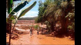 URGENTE - Barragem da vale se rompe em Brumadinho Minas Gerais