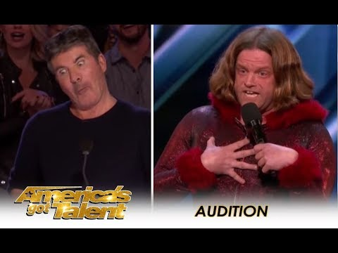 Alex Hooper: Comedian RIPS Into The Judges & It Gets REAL NASTY! | America's Got Talent 2018