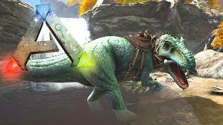 Ark Survival Evolved Gigantosaurus Showcase - Ark Survival NEW GIGANTOSAURUS! (ARK)