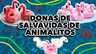 DONAS DE SALVAVIDAS DE  ANIMALITOS. EXPECTATIVA/REALIDAD