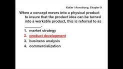 Principles of Marketing - QUESTIONS & ANSWERS - Kotler / Armstrong, Chapter 9