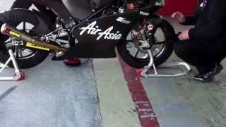 AirAsi KTM Moto3 bike