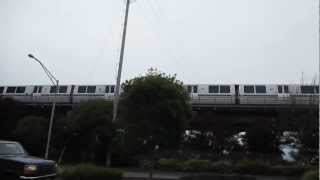 BART Train Daly City California Bay Area Rapid Transit