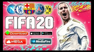 Saiu! Dream League Soccer 2019 mod FIFA 20