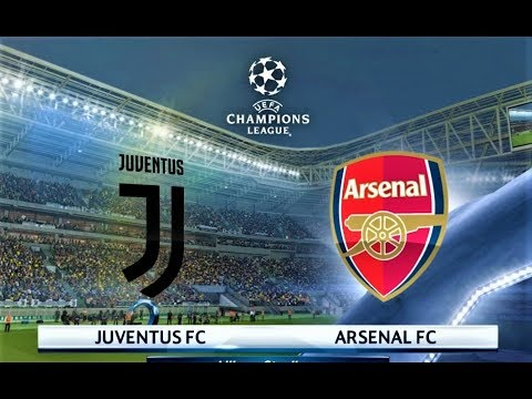 Juventus vs Arsenal | Mkhitaryan 2 Goals | UEFA Champions League 2018 | PES 2018 Gameplay HD