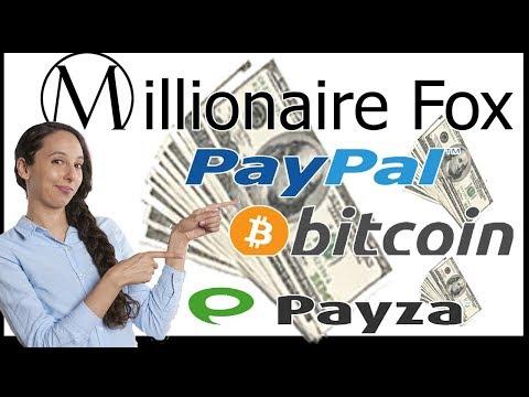 MILLIONAIRE FOX Una REVSHARE GRATIS para Ganar Dinero PAYPAL y BITCOIN ¡APROVECHA!
