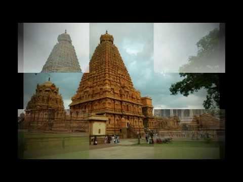 Brihadishwara Temple at Thanjavur in the Indian state of Tamil Nadu.