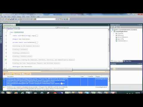 Analysis Services Cube Programatically/Automatically Generated Via  C# And AMO