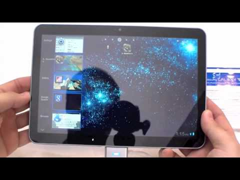 Hands On mit dem Samsung Galaxy Tab 8.9