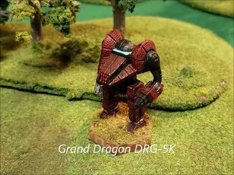 Battletech: Mercenary Commanders Thoughts From The Inner Sphere Grand Dragon DRG-5K Episode 129  