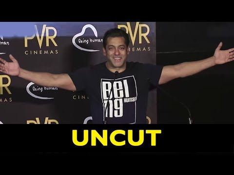 UNCUT: Salman Khan | Being Human Tie-Up With PVR Cinemas!