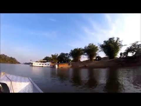 Pescaria Rio Araguaia Luiz Alves Go Brazil Pirarara Pesca Peixe outubro  Barco Fishing Boat