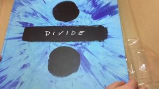Unboxing Ed Sheeran / DIVIDE deluxe boxset