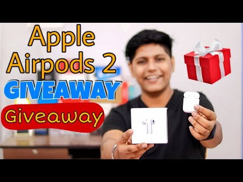 apple-airpods-2-just-rs.1499💸-unboxing-&-review!-🔥-giveaway-🎁