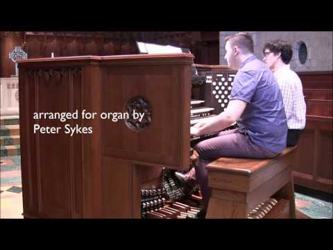 The Planets, for solo organ (Holst, arr. Sykes), Mark McDonald, organist