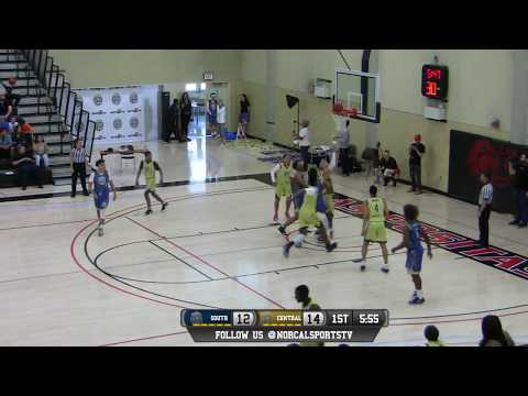 ALL NORCAL GAMES Boys Central Valley vs South Valley All-Star Game LIVE 4/2/17